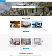 vevs real estate websites demo