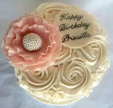 Rosette Birthday Cake Cakecentral Com