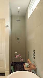 walk in shower as an extension of the small bath hum ideas