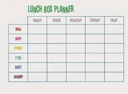 lunch box planner template 26 images of lunch box planner template stupidgit com