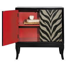 pulaski furniture zebra print cabinet ds 675013 the home depot