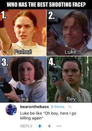 Anakin Skywalker Meme - the best shooting face on star wars funny memes daily lol pics