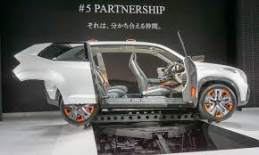 subaru viziv interior 2015 tokyo motor show subaru impreza viziv concepts autonxt