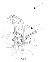 patent us7722119 chair with a tiltable seat google patents patent us7434882 combination ergonomic chair and seat pivoting mechanism google patents