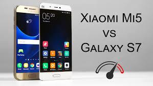 xiaomi mi5 xiaomi mi5 vs galaxy s7 speed test comparison youtube