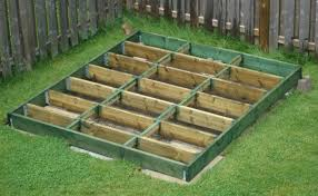 How To Build A Garden Shed Ramp by Diy Shed How To Plan And Build A Shed Base Shed Pinterest