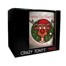 personalised christmas gifts christmas mugs crazy tony u0027s mugs