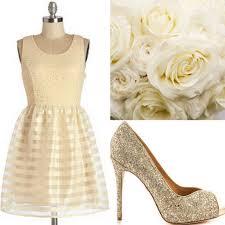 ivory cream bridesmaid dress ideas
