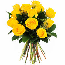 roses bouquet yellow roses bouquet 12 flowers supergift4u