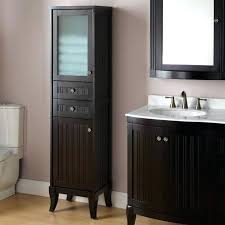 Black Storage Cabinet Black Bathroom Storage Wall Cabinets Telecure Me