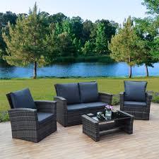 Wicker Patio Furniture Sets On Sale Sofa Garden Furniture Sets Sale Rattan Living Room Furniture