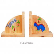 personalized bookends baby personalized wooden bookends for children