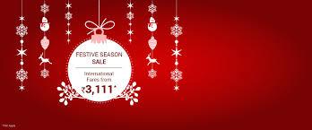 spicejet festive season sale fares from 3111 via