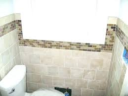 bathroom accent wall ideas accent tile bathroom awesome subway tile design and ideas white