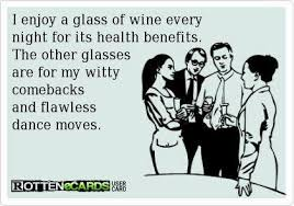 Funny Wine Memes - i enjoy a glass of wine every night