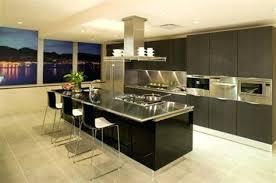 modele de cuisine moderne americaine modele de cuisine avec ilot central ouverte bar et moderne 2015