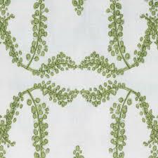 mimosa trellis in citron vert linen