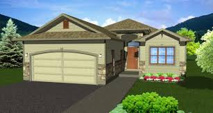 house plans to take advantage of view hillside craftsman the spacious master suite open living area and