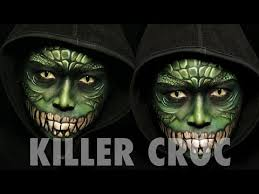 Killer Croc Halloween Costume Killer Croc Makeup Tutorial