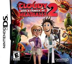cloudy chance meatballs 2 box shot ds gamefaqs