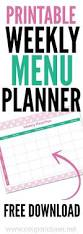 best 25 meal planning chart ideas on pinterest family meal