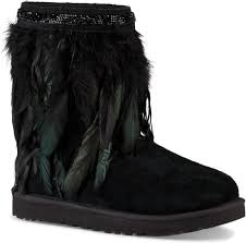 ugg womens boots black ugg s peacock free shipping free returns
