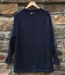 vintage hilfiger sweaters 90 s hilfiger navy blue sweater size medium vntg