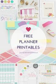 time design planner 10 fabulous and totally free planner printables free planner