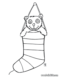 christmas teddy bear coloring pages free picnic colouring gifts