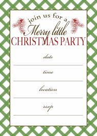 downloadable christmas party invitations templates free holiday