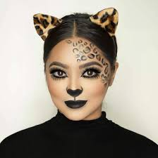 cute halloween cat makeup last minute leopard makeup is easy to do using ardell lashes in