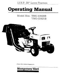 montgomery ward lawn mower tmo 33920b user guide manualsonline com
