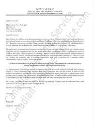 cover letter for teaching position cover letter teaching position
