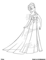 anna elsa frozen fever coloring pages printable coloring sheets