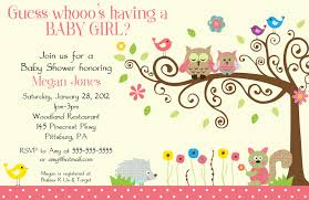 Invitation Cards To Print Template Free Baby Shower Invitation Template