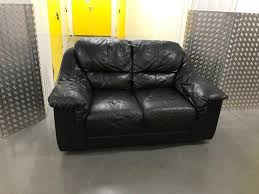 leather sofa free delivery small black leather sofa free delivery in clapham london gumtree
