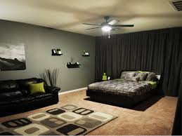 Black Curtains Bedroom Interior Design Cool Guys Bedroom Black Curtain Combined Ceiling
