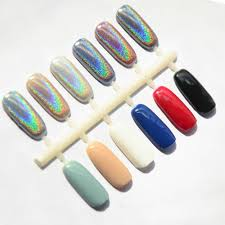 amazon com qimyar 1gram box shining laser silver nail powder