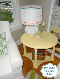Chalk Paint Side Table Diy Chalk Paint Projects Diy Thought