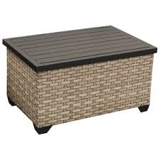 Outdoor Storage Coffee Table Outdoor Coffee Tables You Ll Wayfair