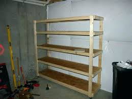 Wooden Garage Storage Cabinets Plans by Wood Garage Shelves U2013 Venidami Us