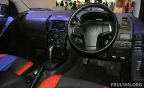 isuzu dmax interior 2013 isuzu d max x series launched u2013 only 300 units image 210323