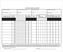 sample blank payroll form template 8 free documents in pdf