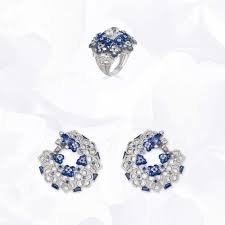 chaumet earrings cij international jewellery trends colours trends colors