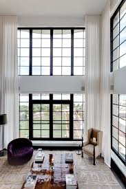 double height sheer curtains google search warehouse design