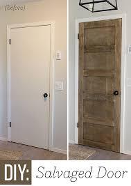 Interior Door Makeover Remodelaholic 5 Panel Door From A Flat Hollow Door