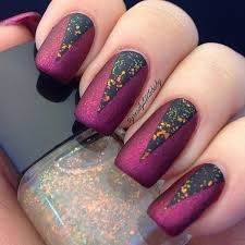 60 pretty matte nail designs glitter nails matte nails and