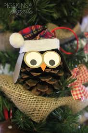 25 unique pinecone owls ideas on owl ornament pine