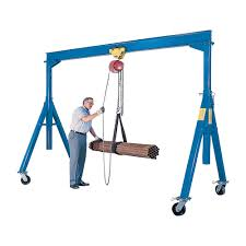 industrial strength crane designed for transporting and
