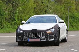 maserati car 2018 2018 maserati ghibli facelift spied up close is this the new 450